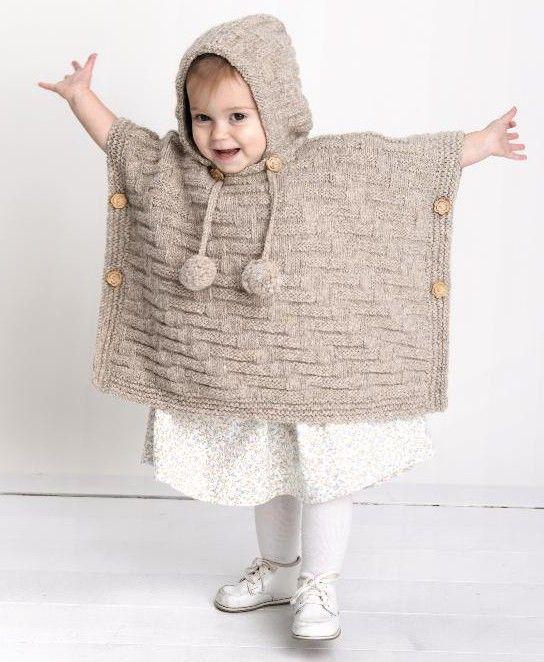 Super cute knit poncho
