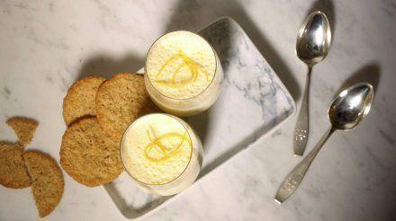 Resepti: Lemon posset eli sitruunavanukas