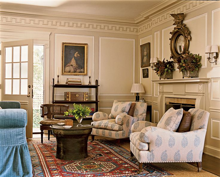 260 best greek revival interiors images on pinterest for Georgian living room ideas