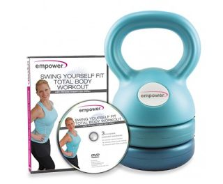 Fitness For The Rest of Us: Empower Fitness 3-in-1 Adjustable Kettlebell With DVD!