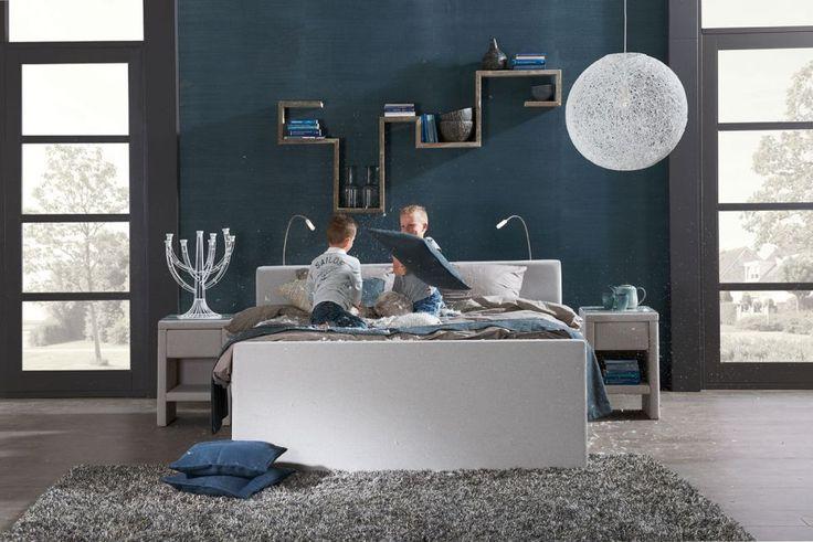 Hanglamp Slaapkamer Wit : boxspring Florida - #slaapkamer #landelijk # ...