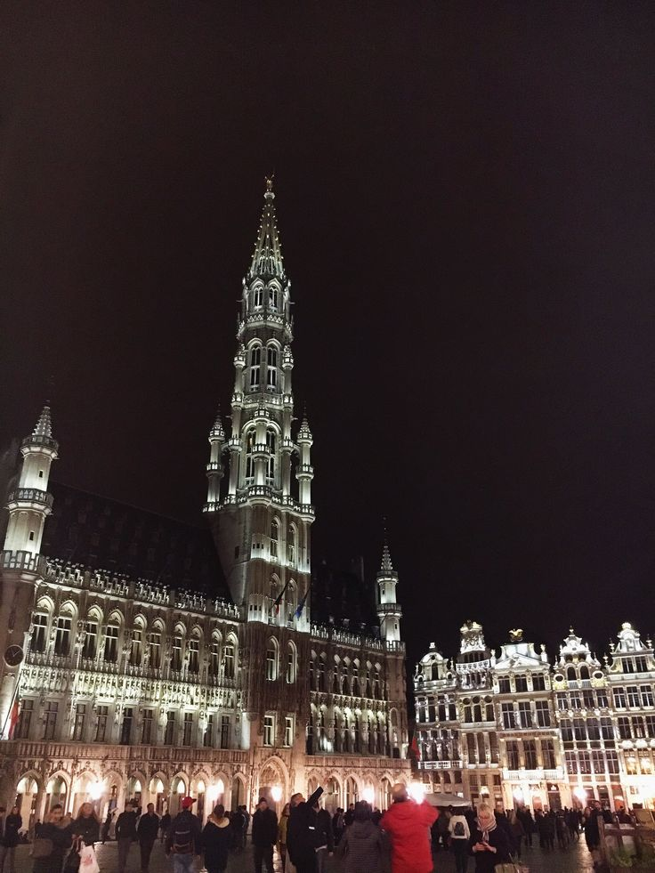 •Brussels, Grand Place•  Photo By Selin Ozer
