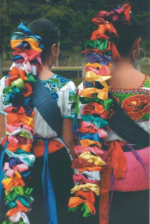 Tocados Purepechas de la zona de Michoacán