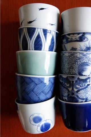 Arita porcelain, Sobachoko. 有田焼 蕎麦猪口