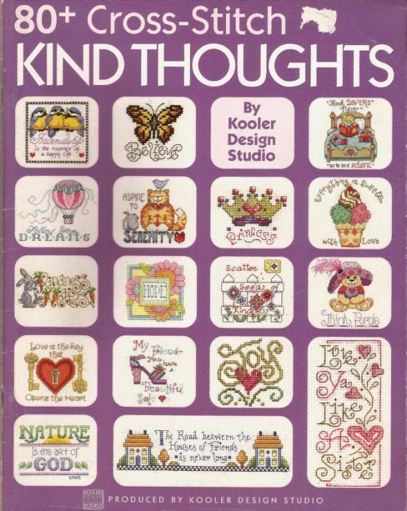 80+ Cross Stitch kind sayings