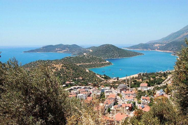 Overlooking the stunning area of #Kas in #Turkey