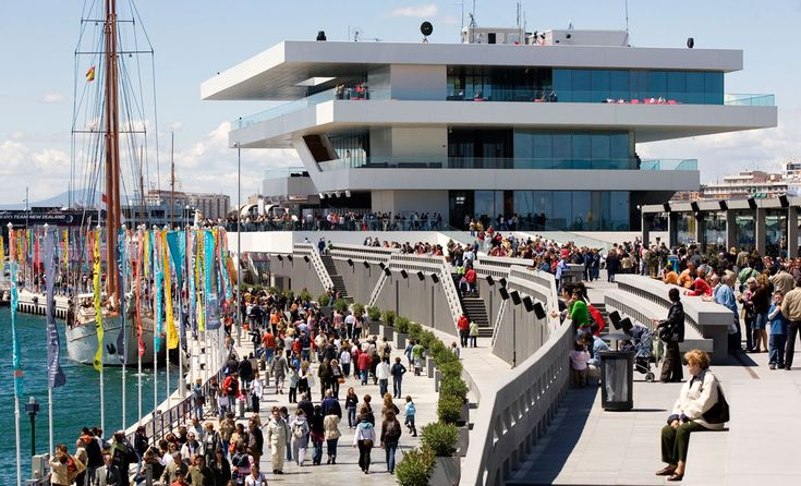 David Chipperfield Architects – America's Cup Building 'Veles e Vents'