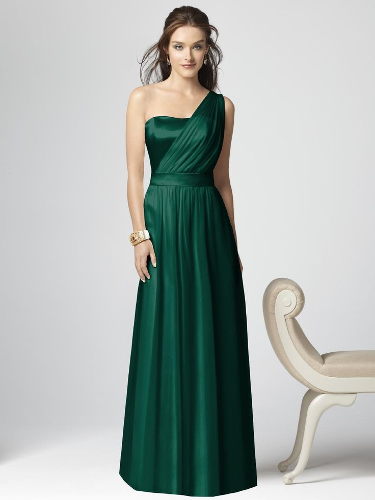 Emerald Green Bridesmaid Dresses. Love!!! Love this site and this dress in various colors!!