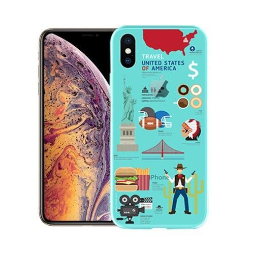 coque iphone xs travel