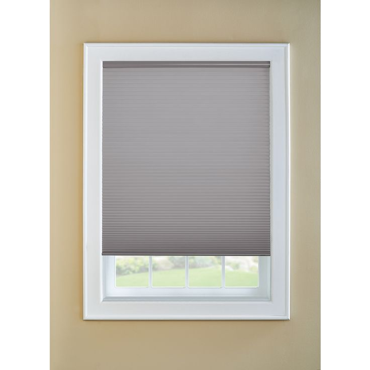 Custom Size Now by Levolor Graphite Room Darkening Cordless Cellular Shade (Common 36-in; Actual: 35.5-in x 72-in)