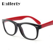 Ralferty Infant Baby Kids TR90 Eyewear Frames Child Safety Eye Glasses With Clear Lens, Soft Flexible Optic Frame For Myopia (China (Mainland))