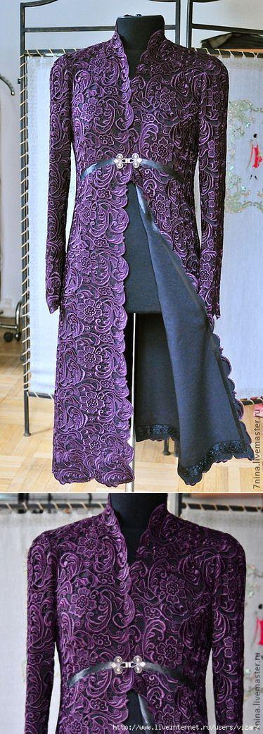 Платье- пальто из кружева PRADA от Нины Тимченко | Вязание крючком | Постила