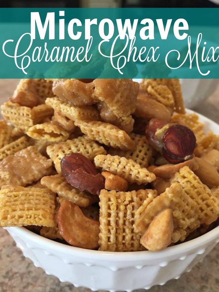 On the hunt for caramel chex mix recipes? Brown sugar is the star in this easy concoction and is a snack for kids, easy to make and adults love this easy chex mix, microwave friendly, nonetheless! http://couponcravings.com/appetizers/