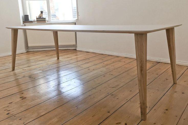Tischbeine Holz konisch Rana Eiche Wohnsektion Esszimmer - küchenarbeitsplatte buche massiv