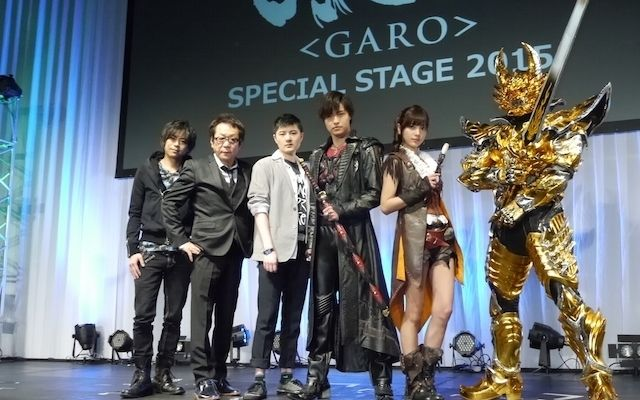 """New projects in both live-action & anime, """"Garo <GARO>"""" main cast gathers at SPECIAL STAGE at AnimeJapan 2015. Daisuke Namikawa & Horiuchi Kenyuu. 3/3"""