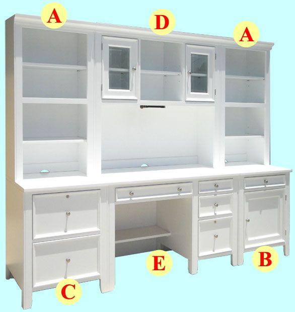 white wood office furniture. alu0027s woodcraftu0027s modular office furniture u0026 bookcases white woodoffice furniturebookcasescabinet wood e