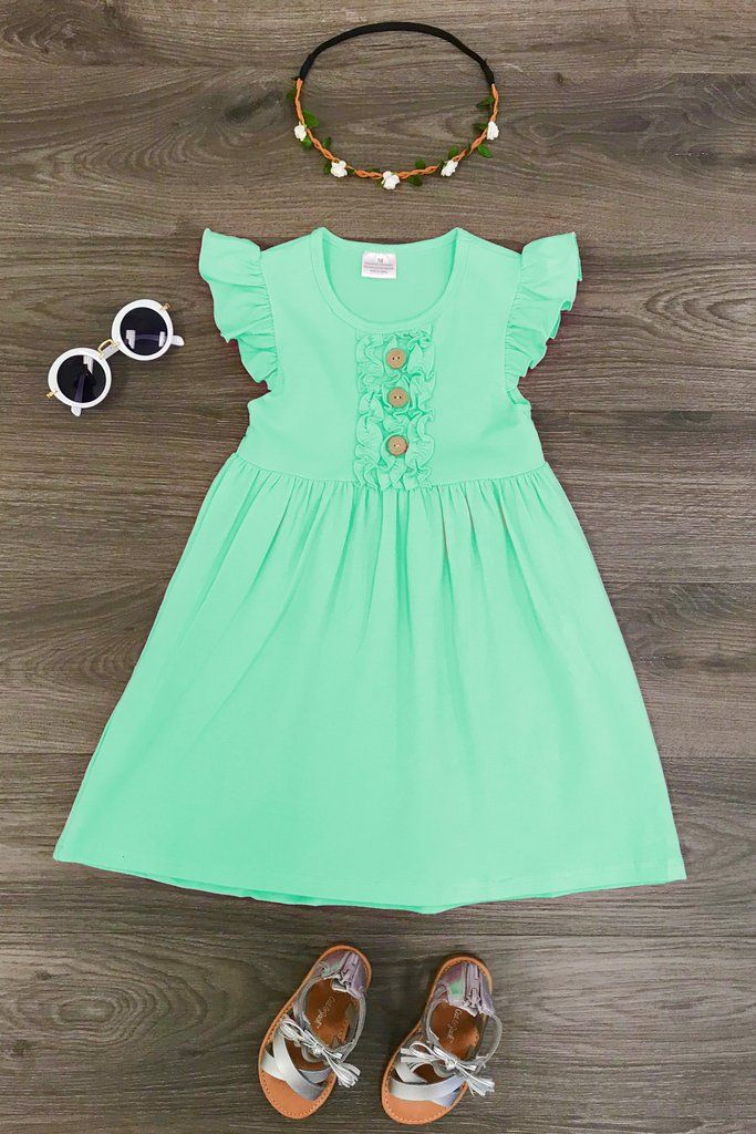 d0b796272 The Abbigail Dress - MINT | my girls | Dresses, Baby, Girl outfits