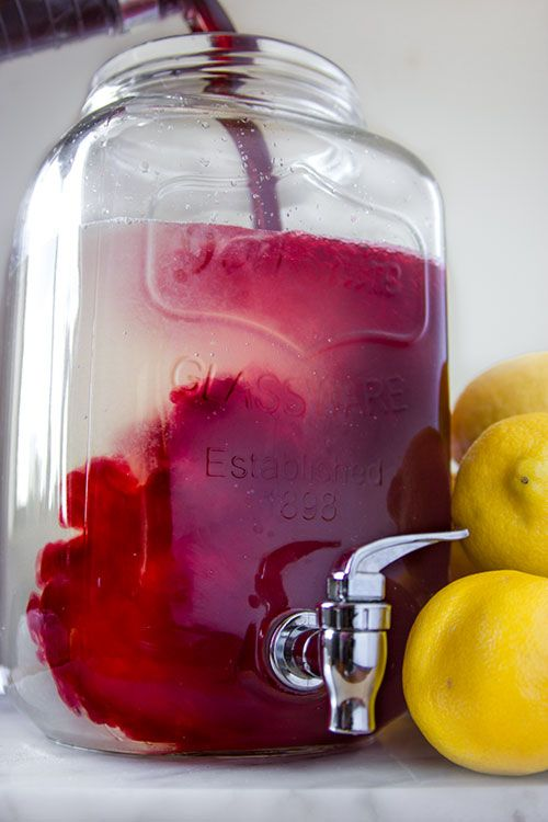 The 25 best non alcoholic drinks with club soda ideas on fresh homemade sparkling hibiscus lemonade party punch recipe forumfinder Image collections