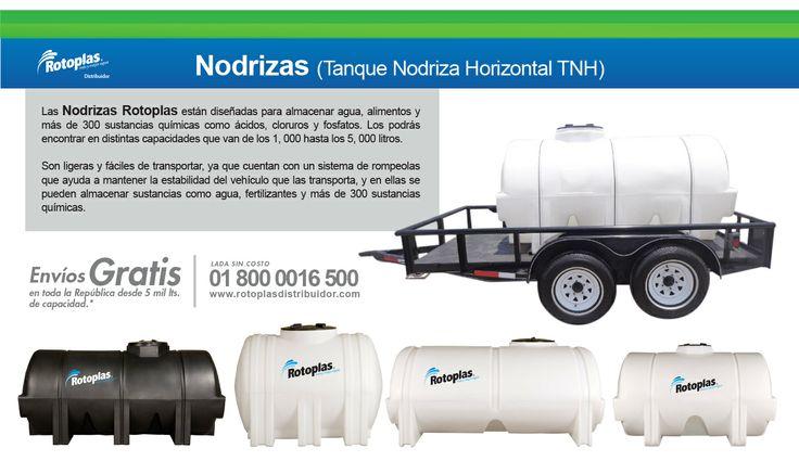 Nodrizas Rotoplas #Tanques #Rotoplas #Nodrizas #Agua Lada sin costo 01 800 0016 500 http://www.rotoplasdistribuidor.com/productos/tanque-horizontal-rotoplas