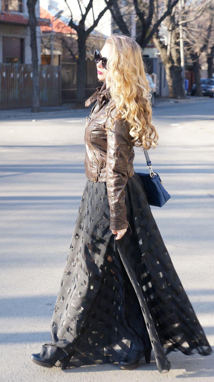 #maxi #maxidress #blondie #streetstyle #fashion #blogger #black #blackdress