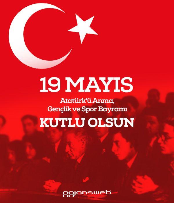 19 Mayıs, Atatürk'ü Anma, Gençlik ve Spor Bayramımız ulusumuza kutlu olsun! #19Mayıs #Atatürk