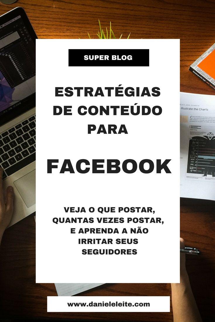 Confira essas dicas para melhorar o engajamento dos seus seguidores!! http://danieleleite.com/estrategia-de-conteudo-para-o-facebook/