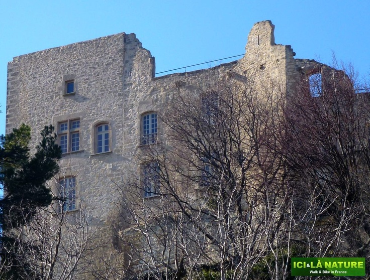 Marquis de Sade -his castle, the Château de Lacoste, in Provence.  http://icietlanature.com/tour/3-self-guided-tour-in-provence-and-luberon