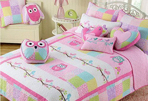 Charles Street Kid S Collection Full Queen Owls And