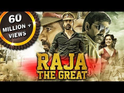 Raja The Great 2019 New Hindi Dubbed Movie | Ravi Teja, Raashi