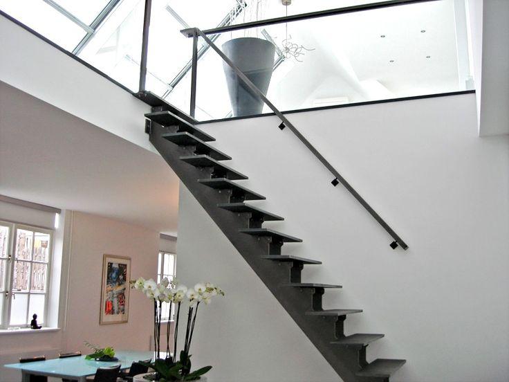 Metalen trap met openboom constructie - Opdrachten in beeld   Paardekooper design & interieur