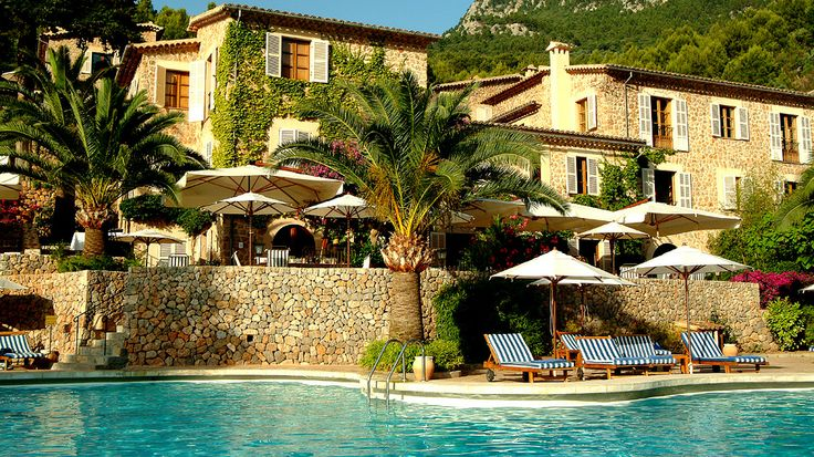 La Residencia, Mallorca, Spain: Ok, let me get this straight. I get THIS and a donkey ride through orange groves? SOLD! courtesy travelchannel.com/daily-escape/la-residencia