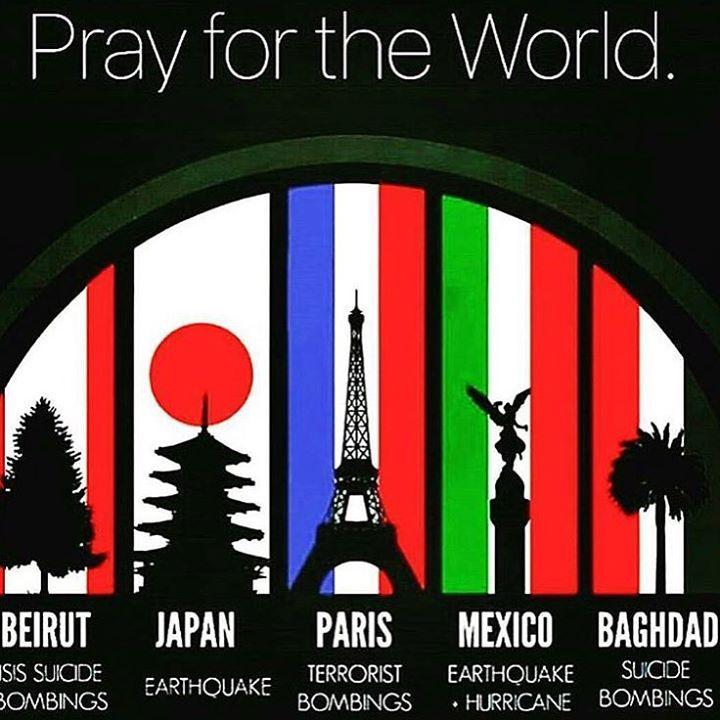 Let's pray for the World, not only this countries on the picture but for all the countries on the world. If you want collaborate in this Board, please contact me on a message, and make this cause bigger #foracause #theWorld  Oremos por el Mundo, no solo los paises en esta imagen, pero tambien por todos los paises en el mundo. Si quieren colaborar en esta Cartelera, por favor contactenme por mensaje, y hacemos de esta causa mas grande. #porunacausa #ElMundo