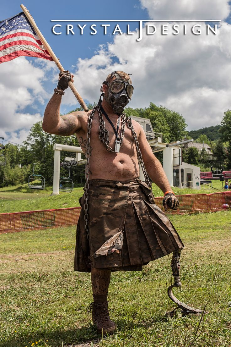 From the Warrior Dash 2013 at Windham Mountain.