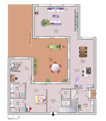 52 best plans images on Pinterest Home layouts, House template and
