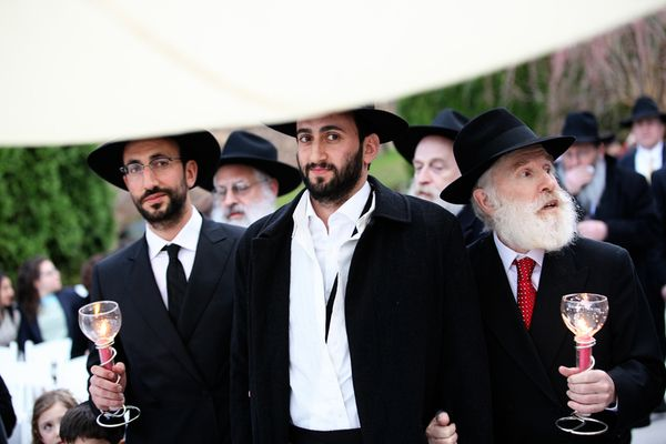 Hasidic Jewish Wedding Ceremony