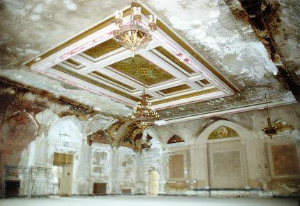Old city council chamber, Kingston City Hall, Kingston, NY