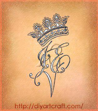 5 tatuaggi lettere stilizzate CAD PCN YZO IEV SPF trittici sangue blu CORONA-tattoo-IEV-diyartcraft – tattoo diyartcraft
