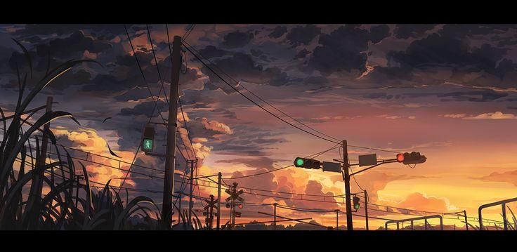 2016最後の夕焼け