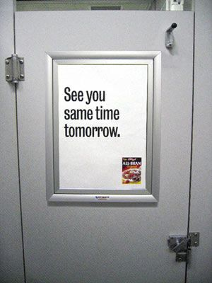 1000 images about bathroom advertising on pinterest creative advertising and guerrilla