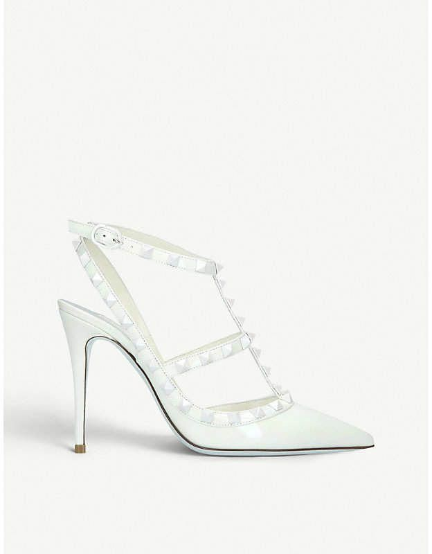 ed5a63d890f Valentino Rockstud 100 leather courts  Valentino
