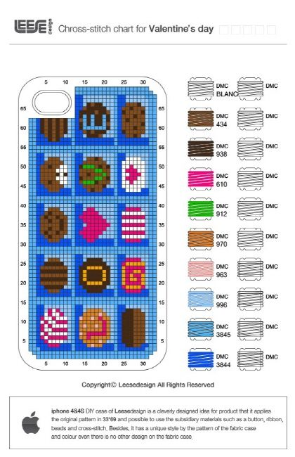 iPhone 4/4S Case to cross stitch.  Great way to make old and new collide.  Plus you can change it at any time!