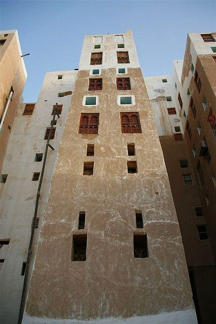 Old building in Shibam - Yemen  © Eric Lafforgue