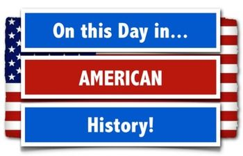 **On This Day in American History!  365 Days of Daily American History Trivia!** Great for Daily Warmups**Bell Ringers**Class Games**