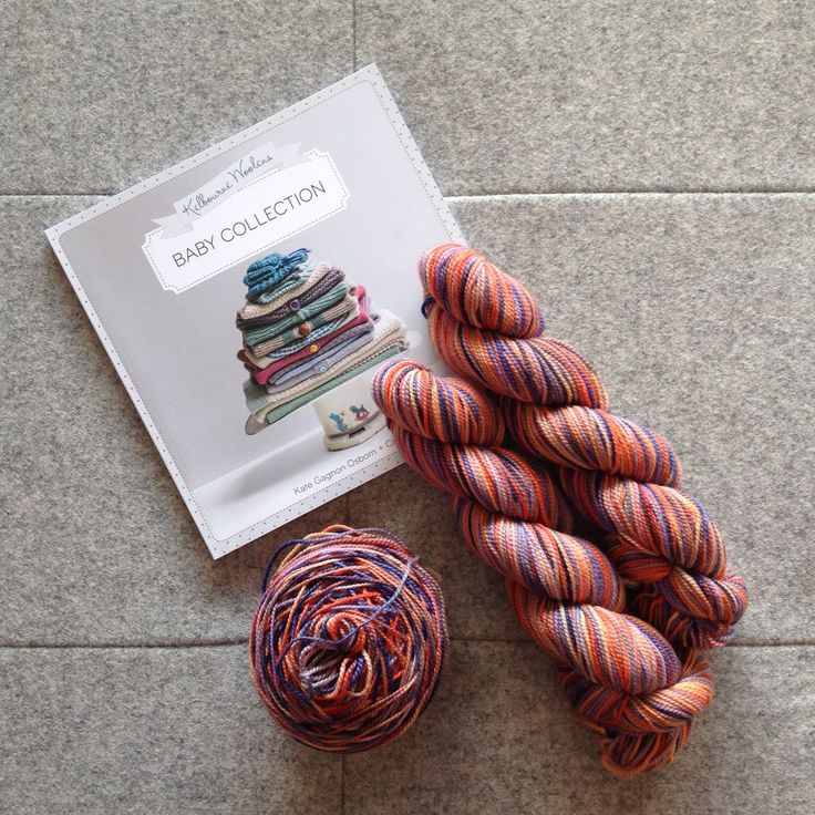 Chris's next project. The very cute baby knit Collette from Kelbourne Woolens in the gorgeous KOIGU KPPPM yarn.