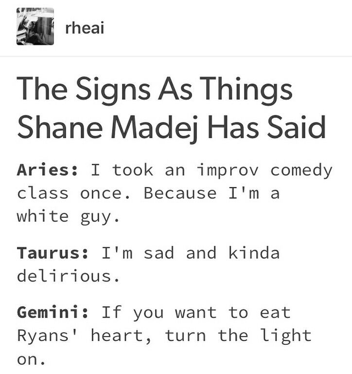 I M An Aries And That S One Of My Fav Lines Lol But Guys Happy National Paranormal Day What Whatttt Improv Comedy Try Guys Stupid Memes