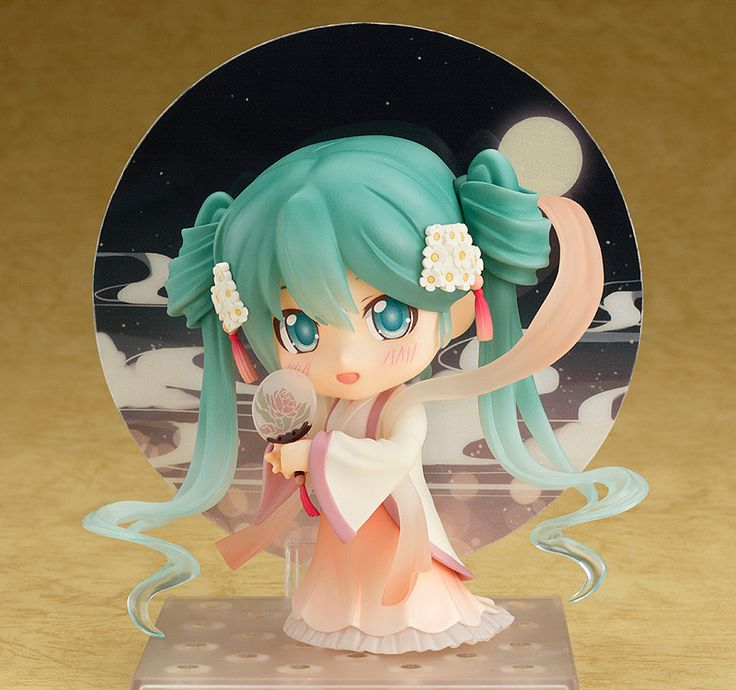 Nendoroid Hatsune Miku: Harvest Moon Ver. by Good Smile Company | Scheduled Release Date: 2015/11; Sculptor: Nd_DOG (Good Smile Shanghai)