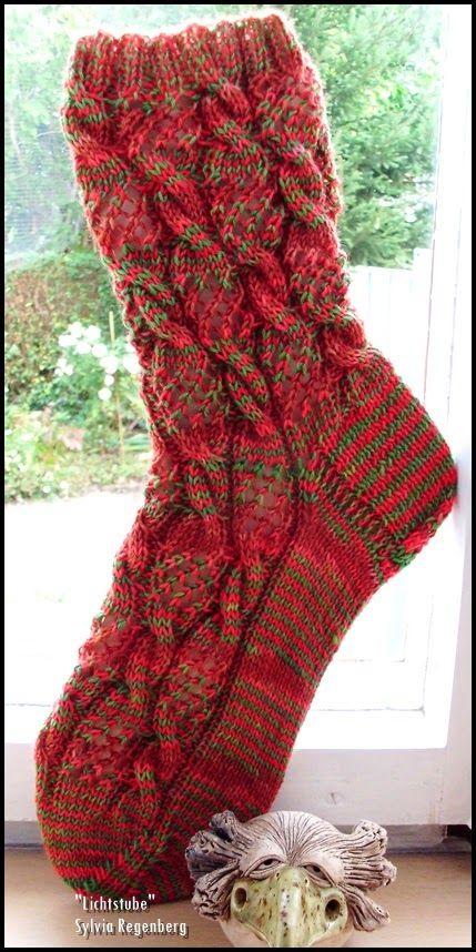 Fischernetze http://www.ravelry.com/patterns/library/fischernetze Nadelspiel 3,0 64 Maschen Wolle: Unbekannt Größe: 42 ...