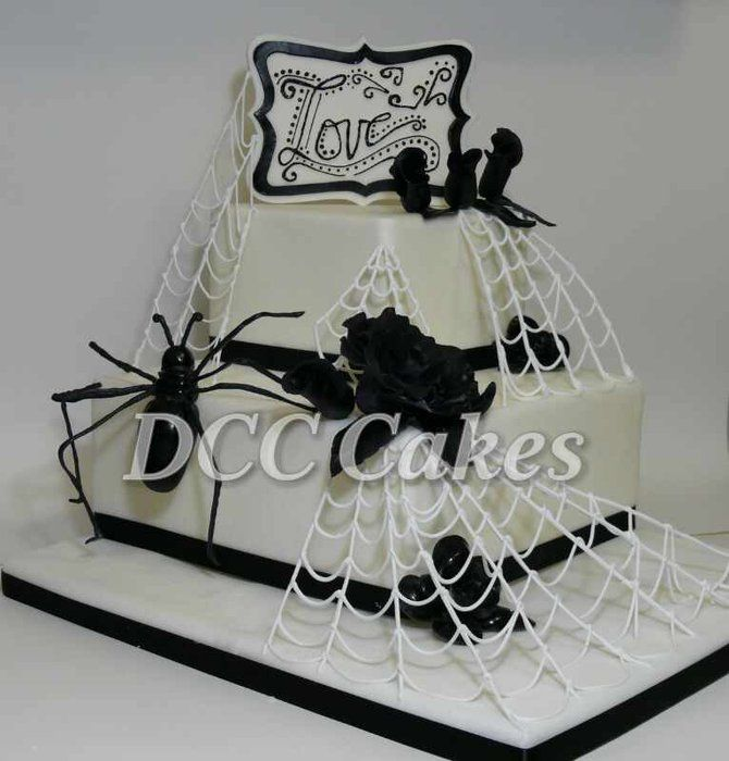 Hallowenn Wedding Cake