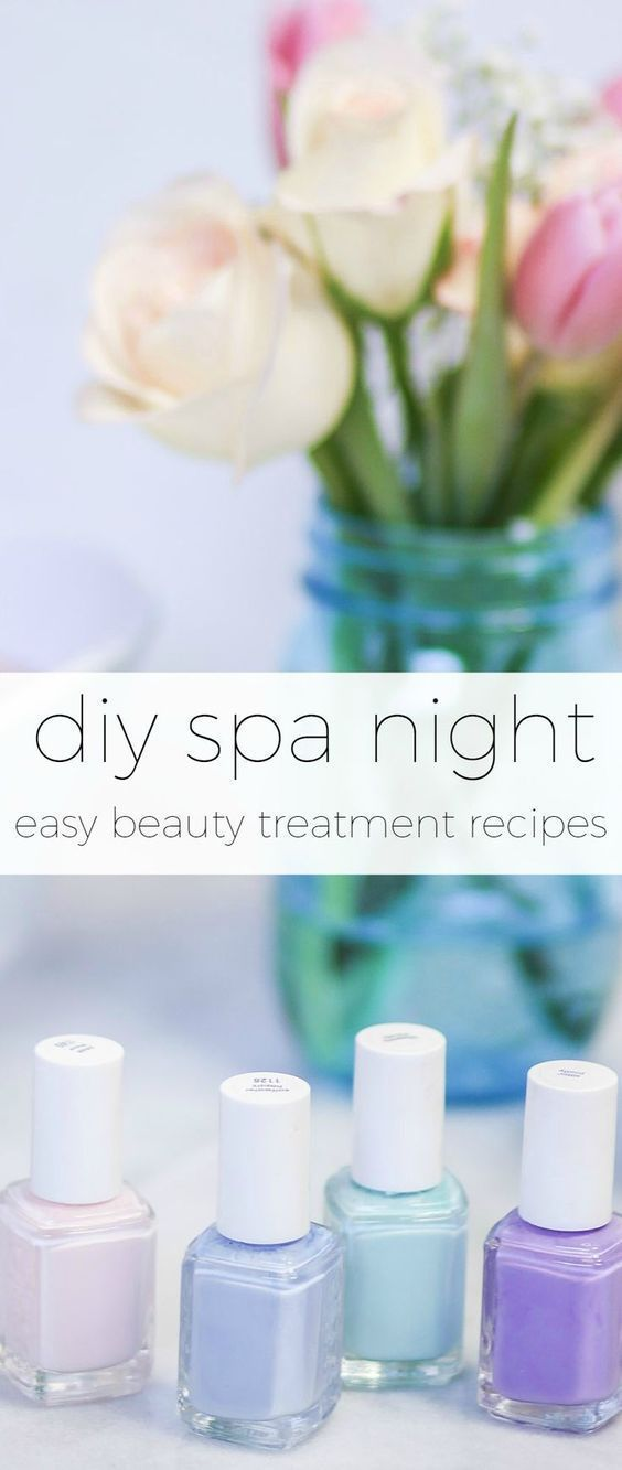 Learn how to create a luxurious DIY spa night at home with these easy DIY spa tr…