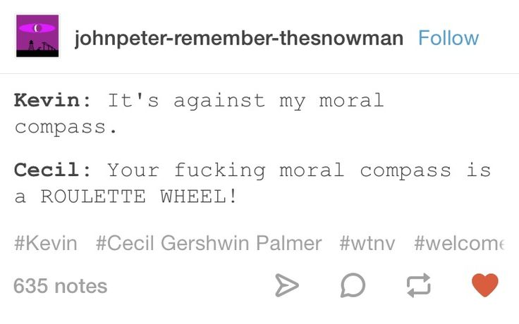 Welcome to Night Vale Kevin and Cecil Palmer incorrect quotes Tumblr post